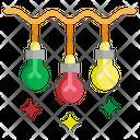 Light Christmas Bulb Icon