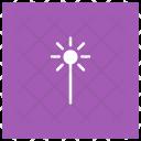 Light Decoration Bright Icon