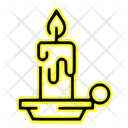 Light Candle Lamp Icon