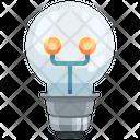 Light Bulb Idea Icon