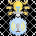 Light Voice Control Mic Icon