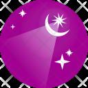 Light Moon Stars Icon