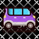 Car Microvan Kei Icon