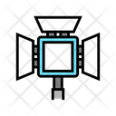 Lightbox Photography Equipment Icon