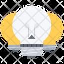 Skull Bulb Idea Icon