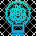 Research Idea Atomic Research Idea Microbiology Research Idea Icon