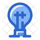 Light Bulb Ecology Lamp Icon