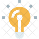 Light Bulb Idea Bulb Icon