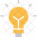 Bulb Lightlamp Electrical Device Icon