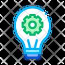 Machine Learning Light Icon