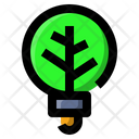 Light Bulb Ecology Icon