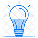 Light Bulb Lamp Illuminous Icon