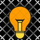 Light Bulb Solve Innovation Icon