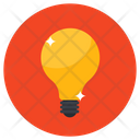 Light Bulb Electric Light Led Bulb Icon