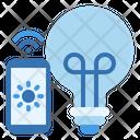 Light Bulb Control Lamp Icon