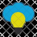 Light Bulb Connection Web Icon