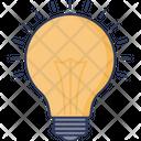 Light Bulb Light Electricity Icon