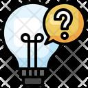 Light Bulb Idea Curiosity Icon