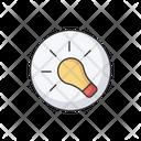 Bulb Idea Lamp Icon