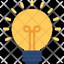 Light Bulb Illumination Icon