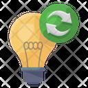 Light Bulb Recycling Icon