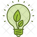 Light Energy Eco Bulb Energy Saver Icon