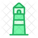 Beach Tower Light House Icon