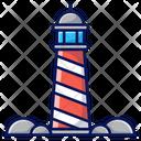 Light House Coast House Icon