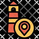 Light House Location Icon