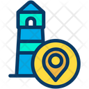 Location Pointer Light House Pointer Icon