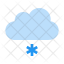 Snow Light Cloud Icon
