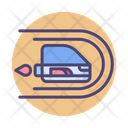 Light Speed Travel Icon