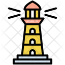 Light Lighthouse Sea Icon