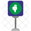 Lightbox Android Green Icon