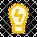 Lightbulb Light Electricity Icon