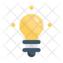 Lightbulb Power Electric Icon