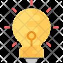 Lightbulb Innovation Idea Icon