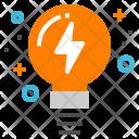 Idea Lightbulb Creativity Icon