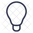 Lightbulb Light Idea Icon
