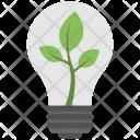 Light Bulb Plant Icon
