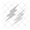 Lightening Thunder Bolt Icon
