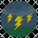 Lightening Cloud Weather Icon