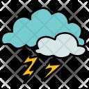 Lightening Cloud Thunder Icon