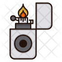 Fire Flame Flint Icon