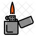 Lighter Burner Cigarette Icon