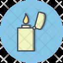 Lighter Fire Zippo Icon