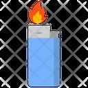 Lighter Ignited Lighter Gas Lighter Icon