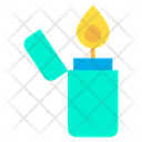 Fire Camp Camping Icon