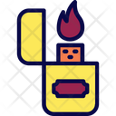 Butane Lighter Flammable Icon