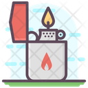 Lighter Fire Lighter Creating Flame Icon